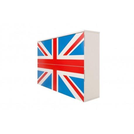 Ravenna - szafka na buty lakierowana GB