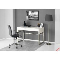B32 biurko biały-chrom