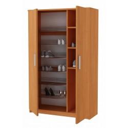 VERA wys. 170 cm  złożona - szafka z półkami